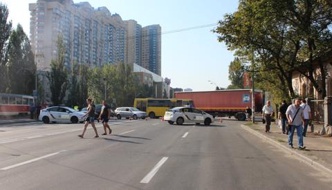 Кияни розблокували Харківське шосе